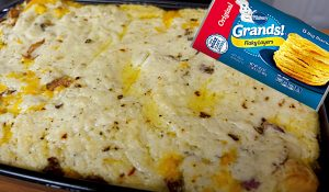 Biscuits And Gravy Casserole With Sausage Recipe