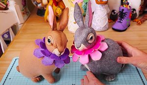 How To Sew An Easter Bunny With Free Pattern