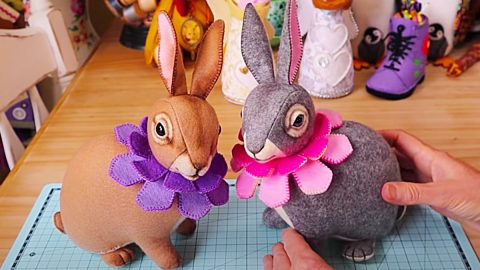 How To Sew An Easter Bunny With Free Pattern   DIY Joy Projects and Crafts Ideas
