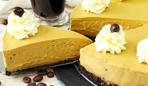 No-Bake Coffee Cheesecake Recipe