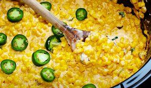 Crockpot Corn And Jalapeno Casserole Recipe