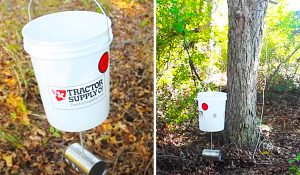 DIY 5-Gallon Bucket Deer Feeder