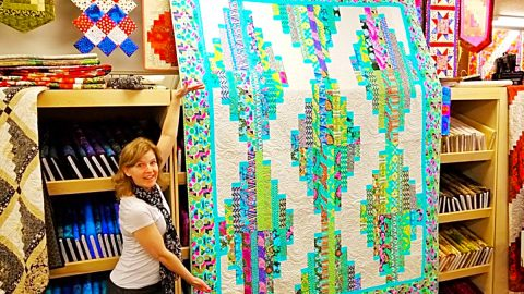 Long Tall Quilt With Donna Jordan   DIY Joy Projects and Crafts Ideas