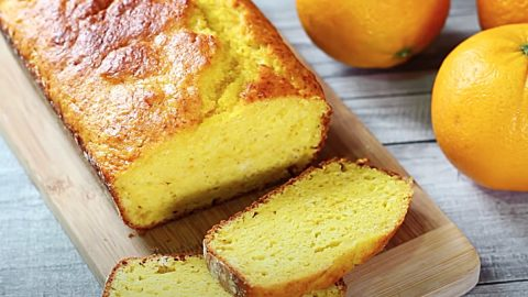 Easy Orange Loaf Cake Recipe | DIY Joy Projects and Crafts Ideas