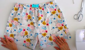 How To Make Easy Pajama Shorts With Free Pattern