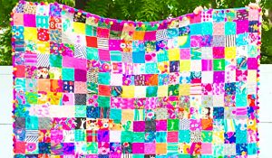 How To Make An Easy Patchwork Squares Quilt