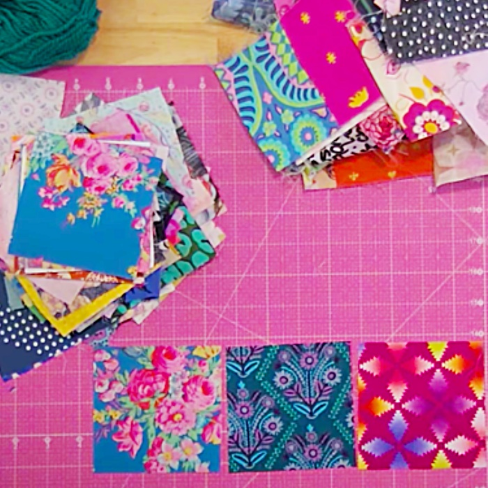 Easy Quilt Pattern - How To Make A Quilt - Squares Patchwork Ideas
