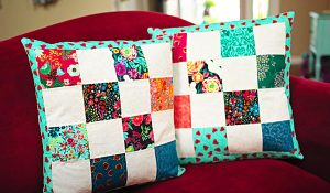 Patchwork Pillow For Beginners