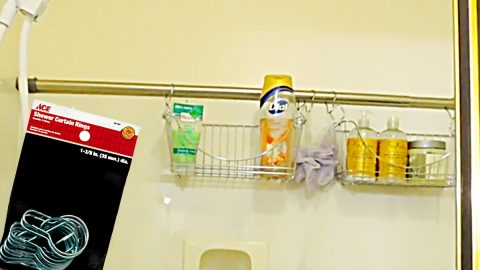 How To Make A Quick Shower Caddy | DIY Joy Projects and Crafts Ideas