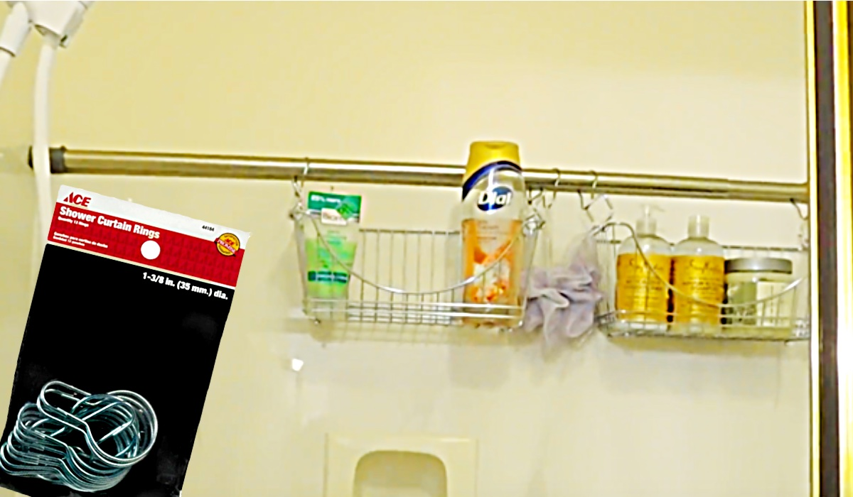 How To Make A Quick Shower Caddy