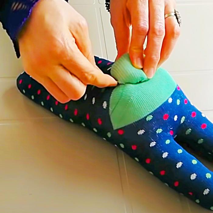 How To make A Sock Doll - DIY Doll Idea - Cheap Gift Ideas