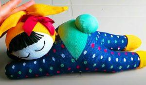 How To Make A Sleepy Sock Doll
