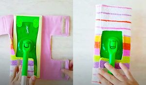 DIY Reusable Wet And Dry Swiffer Pads With Free Pattern