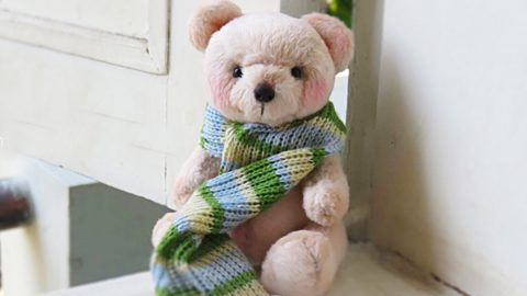 How To Make A Teddy Bear With Fee Pattern | DIY Joy Projects and Crafts Ideas