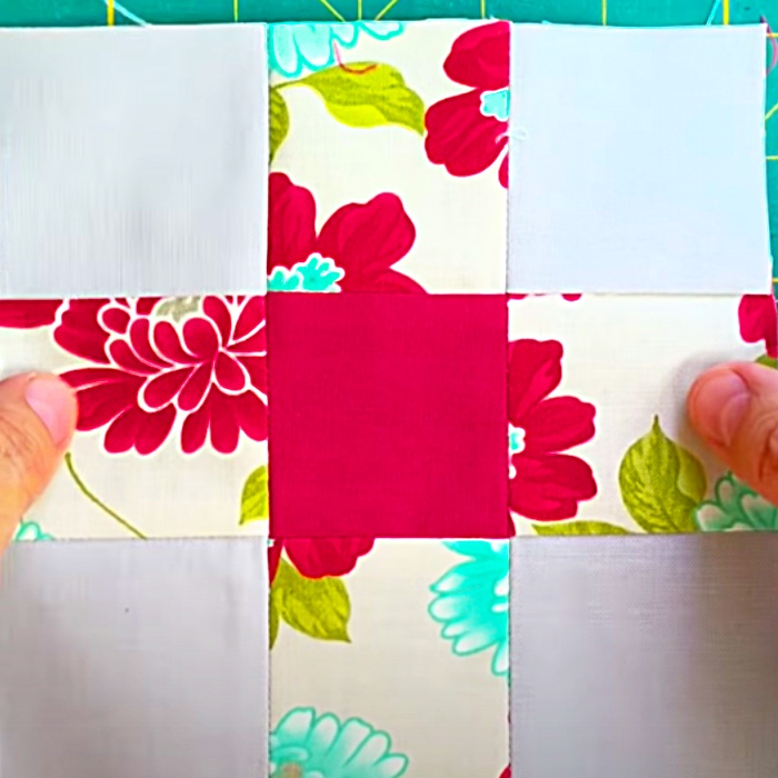 Easy Quilt Block Pattern - Scrappy Quilt - Easy Sewing Ideas