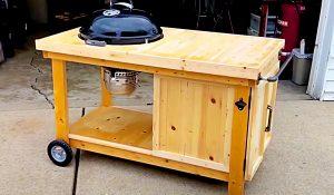 Easy Build Weber BBQ Cart