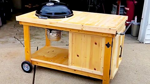 Easy Build Weber BBQ Cart | DIY Joy Projects and Crafts Ideas