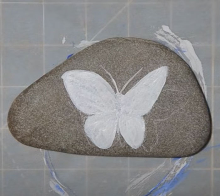 DIY 3D Rock Painting - Easy Painting
