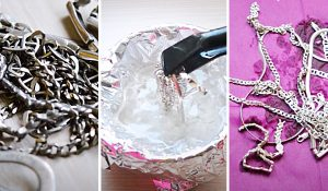 How To Clean Silver With Aluminum Foil