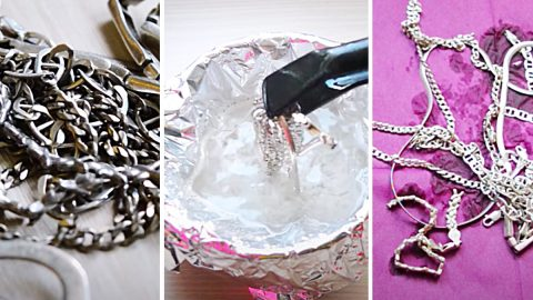How To Clean Silver With Aluminum Foil | DIY Joy Projects and Crafts Ideas