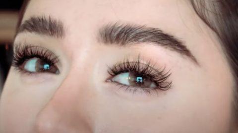 Cheap DIY Eyelash Extensions | DIY Joy Projects and Crafts Ideas