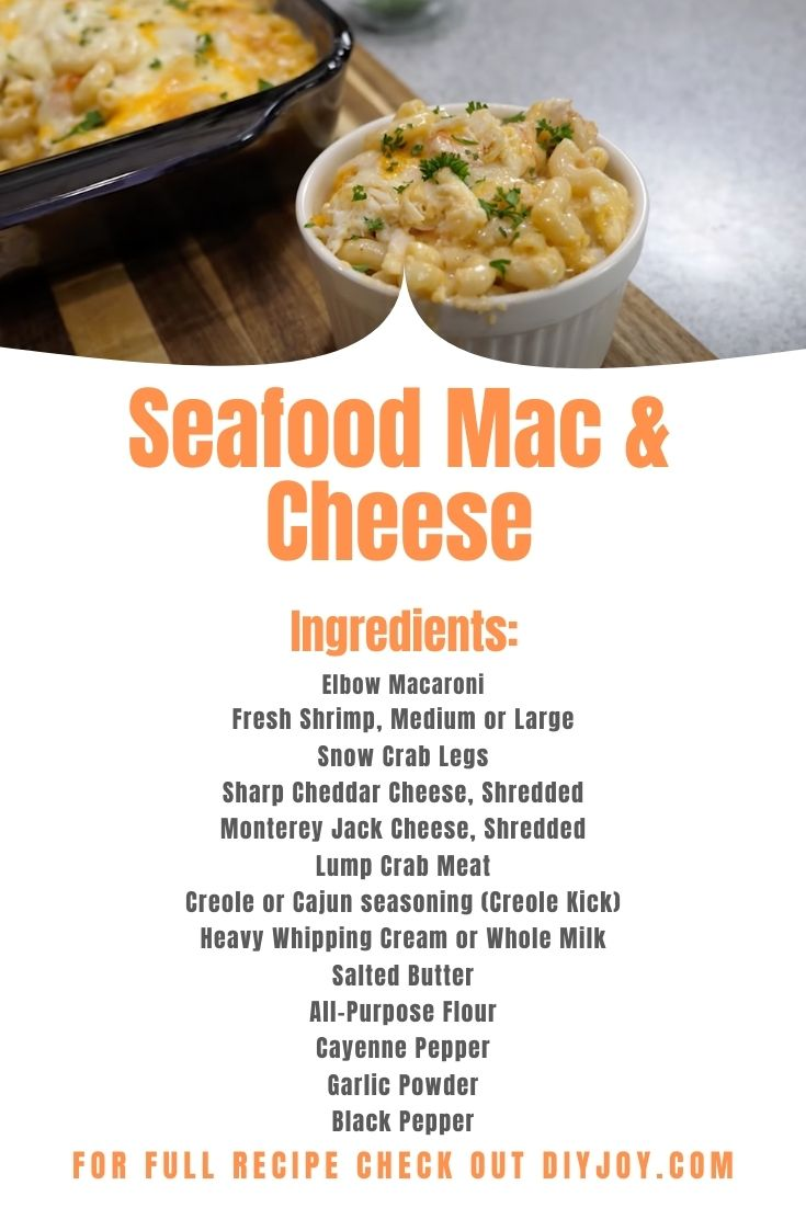 Seafood Mac And Cheese Ingredients - Easy Recipes