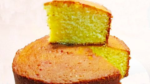 Air Fryer Butter Cake Recipe | DIY Joy Projects and Crafts Ideas