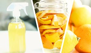 2-Ingredient All-Purpose DIY Citrus Cleaner