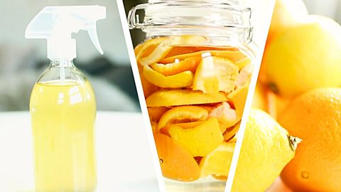 2-Ingredient All-Purpose DIY Citrus Cleaner | DIY Joy Projects and Crafts Ideas