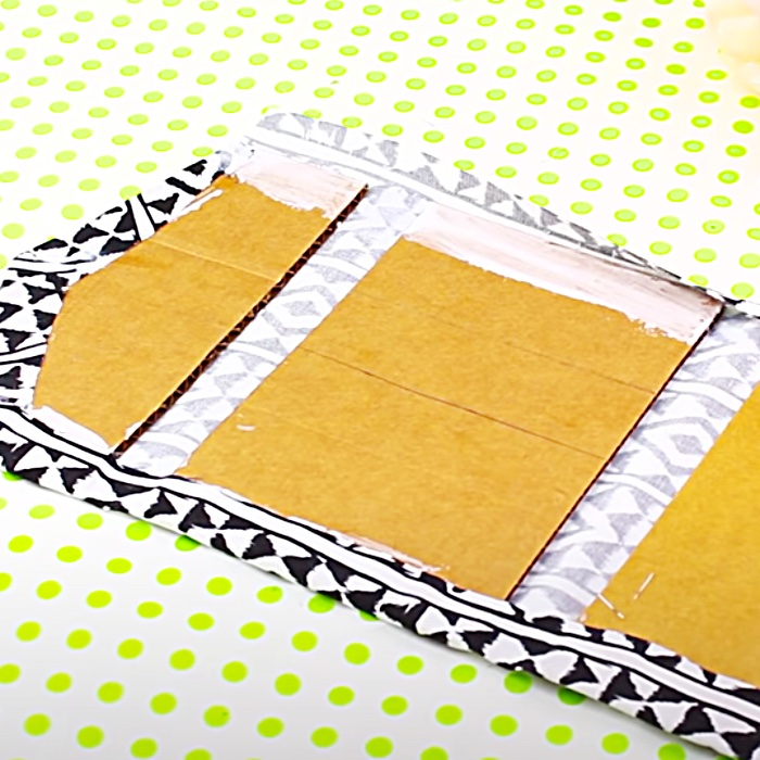 No Sew Purse - DIY Clutch - Scrappy Purse Project