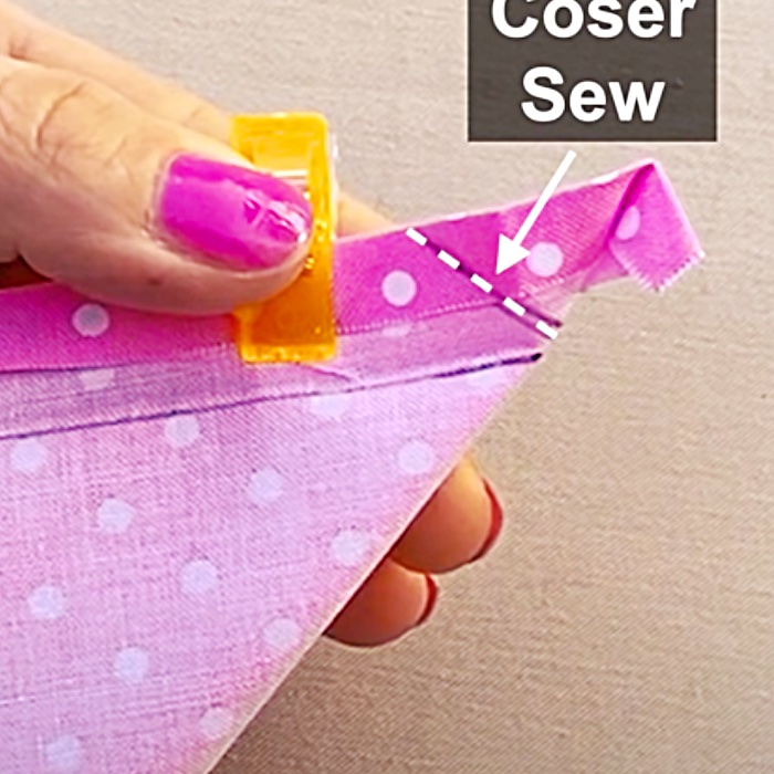 How To Sew Perfect Corners - Easy Sewing Hacks - Fun Sewing Ideas