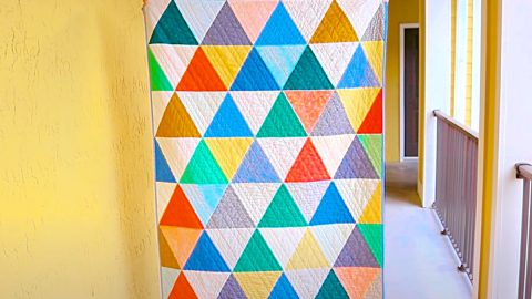 How To Make An Easy Beginner's Quilt | DIY Joy Projects and Crafts Ideas