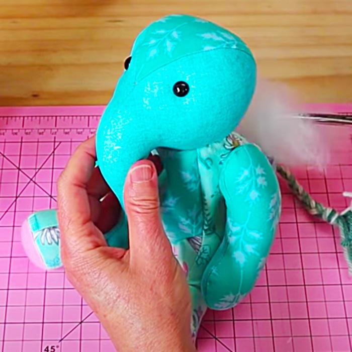 Easy Sewing Ideas - Homemade Toys - How To make A Stuffed Elephant