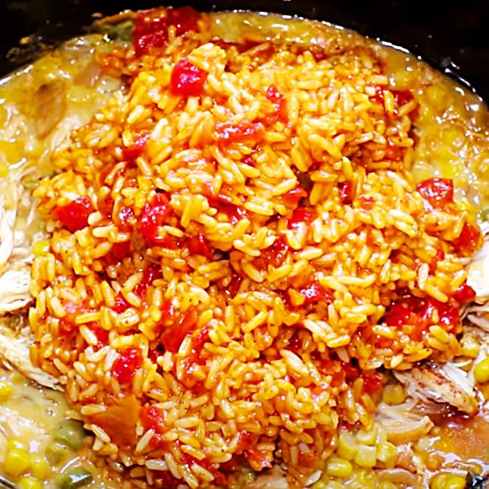 Fiesta Casserole Recipe - Crockpot Recipes - How To Make A Casserole