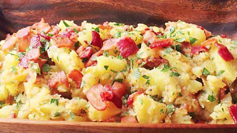 Grilled German Potato Salad Recipe | DIY Joy Projects and Crafts Ideas