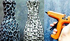 Free Craft Idea: Glue Gun Bottle Makeover