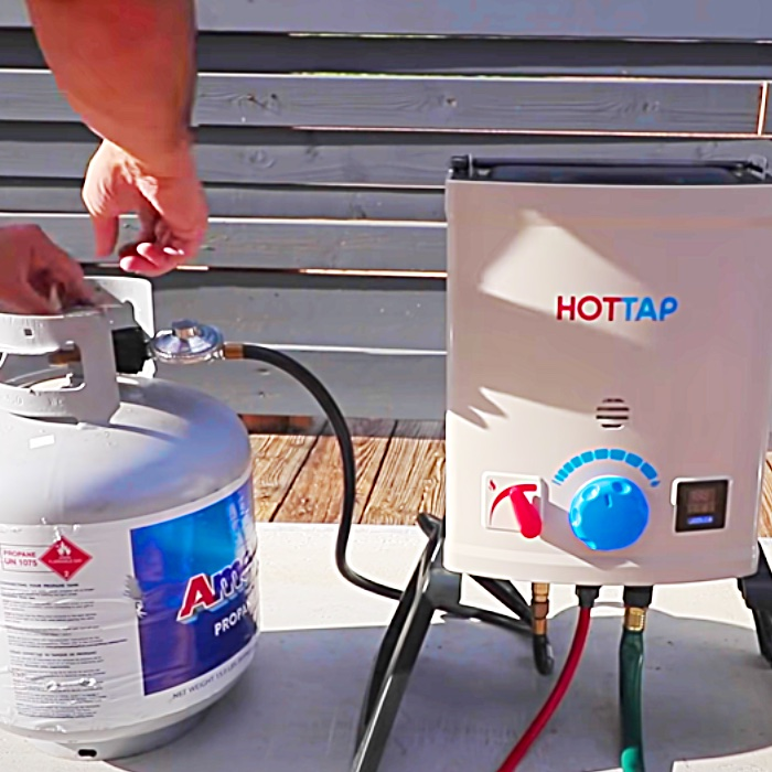 Easy Way To Build A Hot Tub - DIY Hot Tub - How To Make A Stock Tank Hot Tube