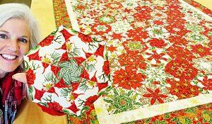 Hexagon Kaleidoscope Quilt With Donna Jordan