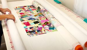 How To Baste A Quilt Using Pool Noodles