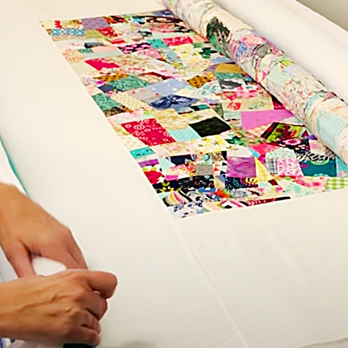 How To Baste A Quilt With Pool Noodles - Easy Quilt Ideas - Quick Sewing Project