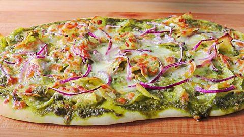 Potato Chip Pizza Recipe | DIY Joy Projects and Crafts Ideas