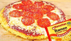 $2 Ramen Pizza Recipe