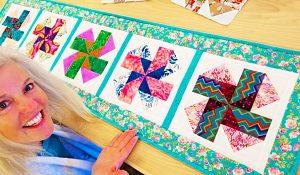 Leftover Scrappy Table Runner With Donna Jordan