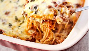 Million-Dollar Spaghetti Casserole Recipe