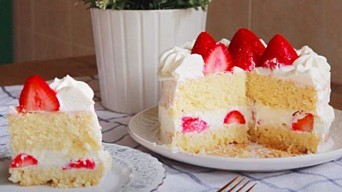 Air Fryer Strawberry Shortcake Recipe | DIY Joy Projects and Crafts Ideas