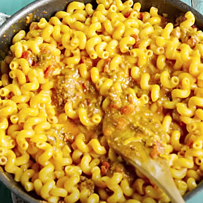Easy Recipe For Taco Pasta - Quick Meal Ideas - Cheap Dinner Suggestions