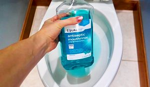How To Clean A Toilet With Mouthwash