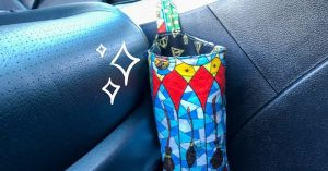 How to Sew A Car Trash Can