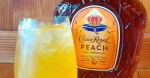 Crown Peach Paradise Cocktail Recipe