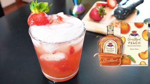 Crown Royal Peach Lemonade Recipe | DIY Joy Projects and Crafts Ideas